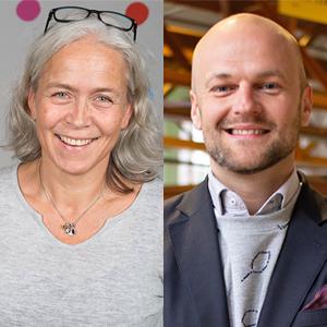 seminariet Hur bygger vi en lärande organisation i ett digitalt samhälle? med Åsa Sundelin och Martin Johansson
